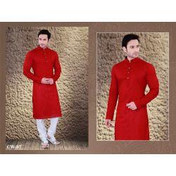 Classy Red Kurta Pajama