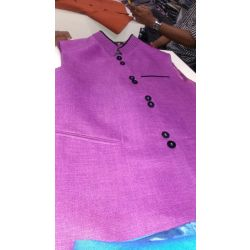 Sober Pink Waistcoat